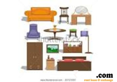 Furniture on rent
