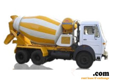 Transit mixer for rent