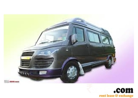 Hire new Tempo traveller in chandigarh for rent