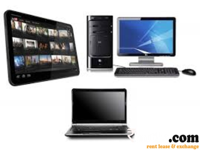 desktop computer or laptop computer