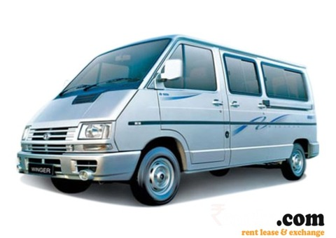 TATA WINGER FOR RENT - SHINE TRAVELS