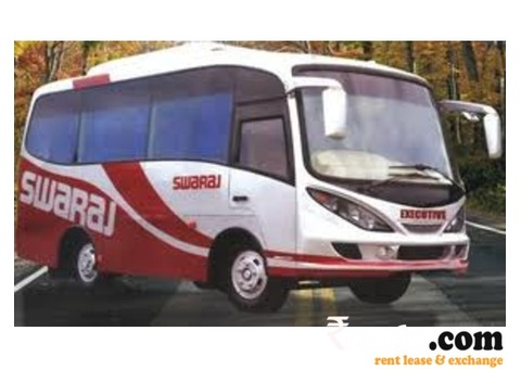 Swaraj Mazda AC on Rent in Goa