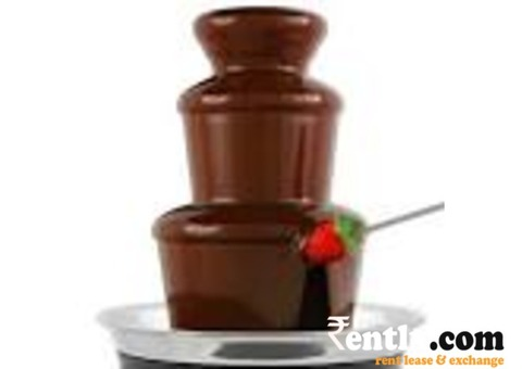 Available Fountain Chocolate Machine hire For Rent etc