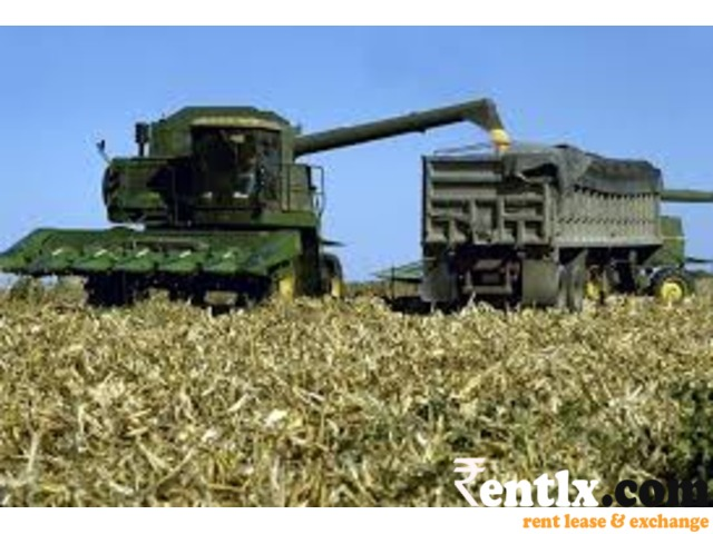 We provide Poclain and combined Harvester in a very reasonable rent.