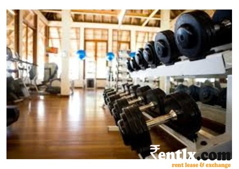 Gym for rent in Rohini
