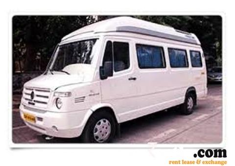 Tempo Traveller A/c Rent at Chennai