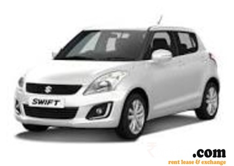 Swift car on monthly Rent
