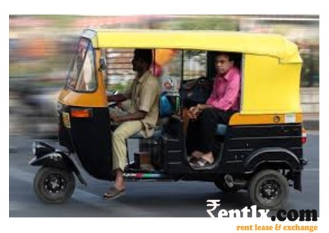 Auto on rent in Chandigarh