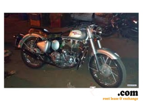 Bullet 350 classic on Rent in Kolkata