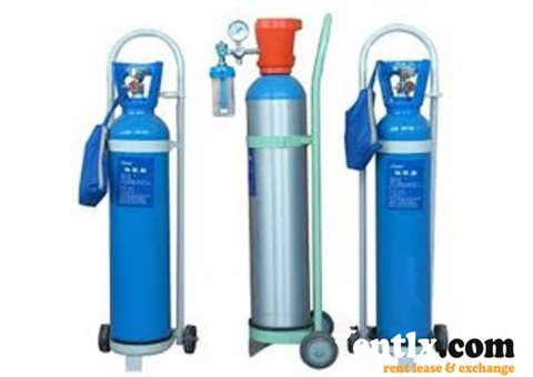 Portable oxygen Cylinder on rent in Delhi and Noida