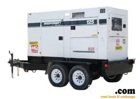 125KVA Generator available for rent