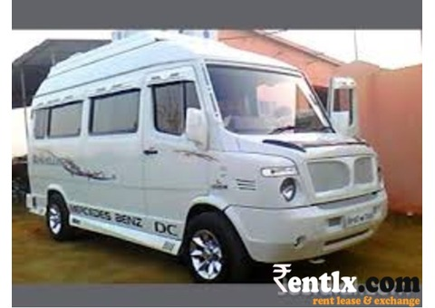 Tempo traveller rent available