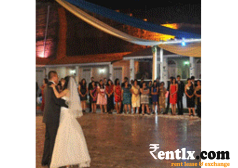 Wedding venue on rent