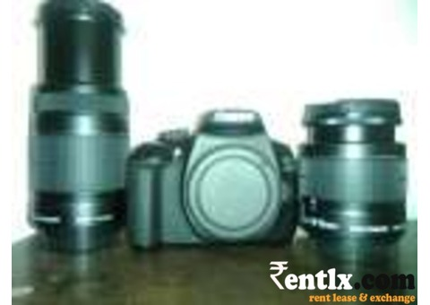 DSLR Camera on rent in Bilaspur