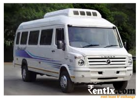 Tempo Traveler Luxury Bus on rent lowest cheap