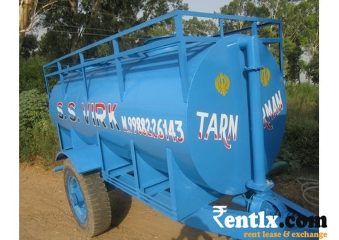 Water tank on rent in Amritsar