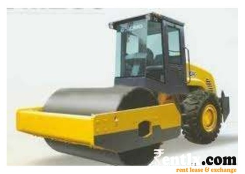 Vibrator Roller or Road Compactor on rent in Indore