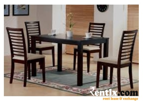 Dinning Table & Chairs on rent/hire in Gurgaon