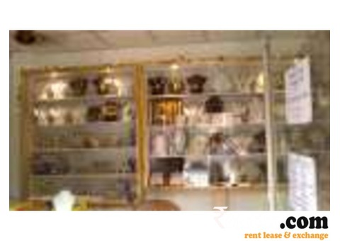 Fashion Jewellary Shop for Rent with materials
