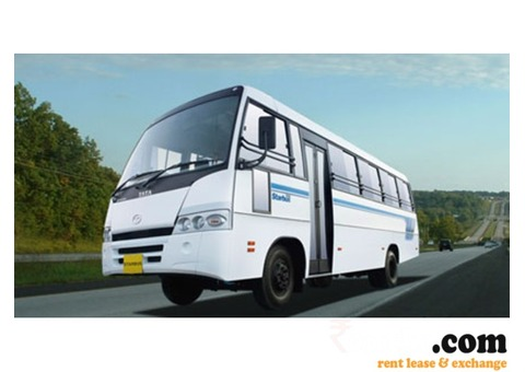 Tata 410 mini bus 29 seater on Rent in Lucknow monthly basis