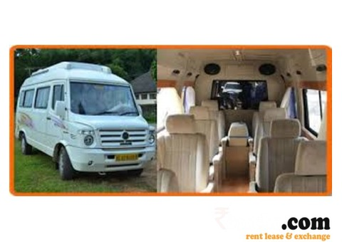 Seater Tempo Traveller on Rent