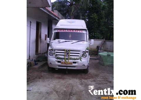 Travaler monthly Basis on rent with driver in Kerala