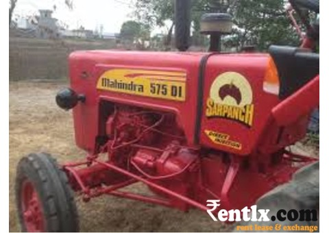 Mahindra 575di on rent in Haridwar