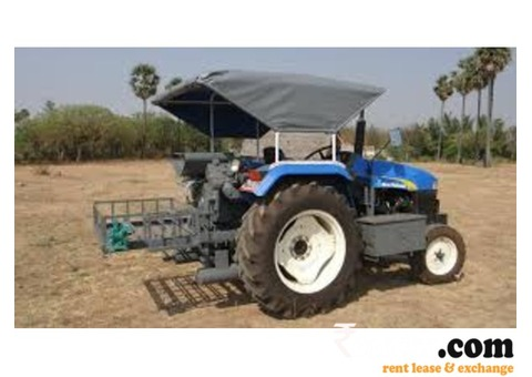 Tractor mounted air compressor for work on Rent
