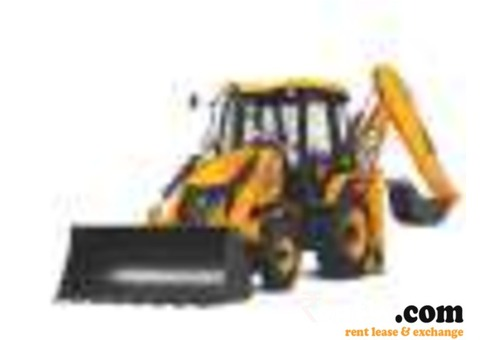 Jcb for rent on monthly basis
