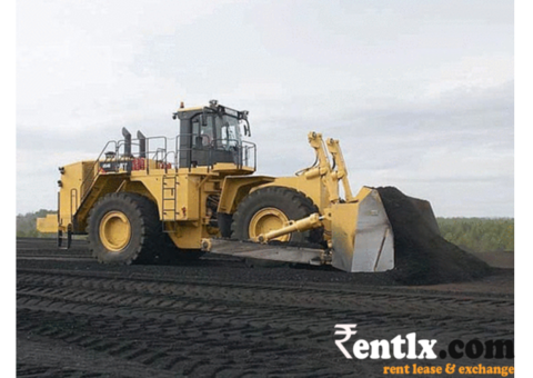 Earthmoving Machines on Rent in Faridabad