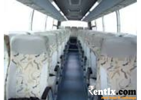 50 seater bus on rent