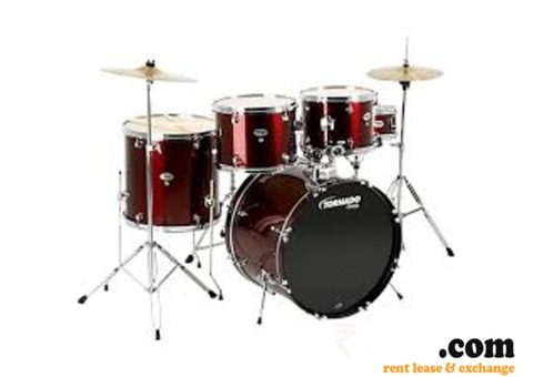 Mapex tornado drumset on rent in Haldwani