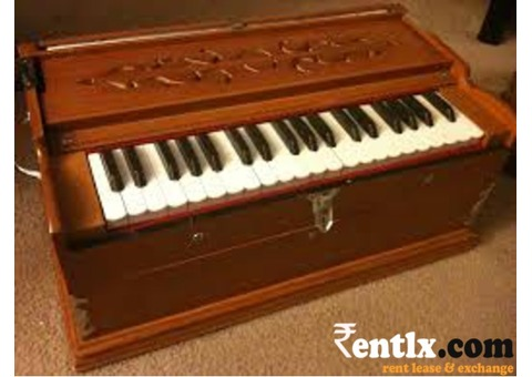 Teakewood Harmonium on Rent in Delhi