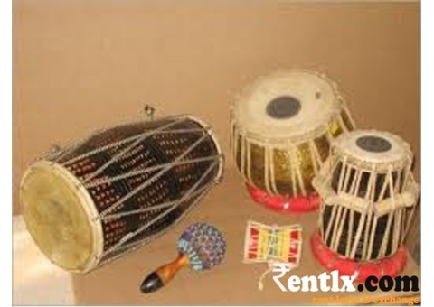 Dholak and Tabla Available on Rent in Bangalore