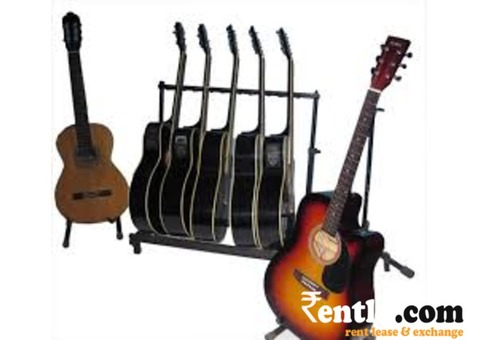 Guitar available on Rent in Bangalore