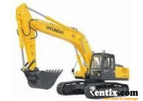 Hyundai 110 excavators on Rrent