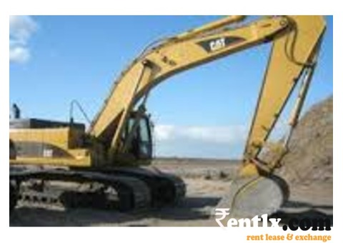 Excavator, motor grader, dozer, loader on rent