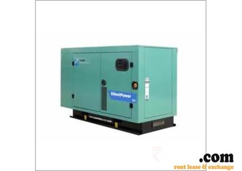 Diesel Silent Generator on Rent