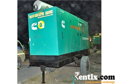 Heavy Duty Portable Generator on Rent in Indore