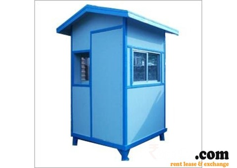 Portable Security Cabin on Rent