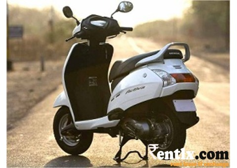 Honda Activa - 110cc Available on Rent in Bangalore