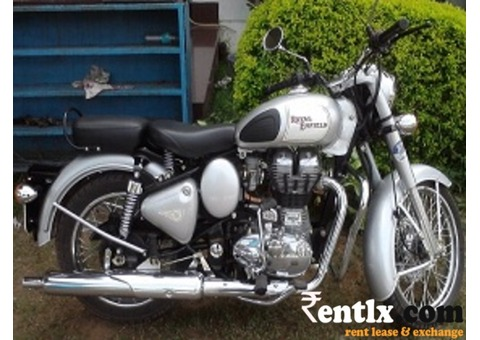 Royal Enfield Classic 350cc on Rent in Bangalore